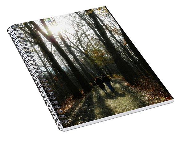 Thanksgiving Walk Spiral Notebook