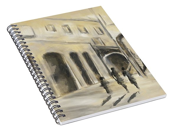 That Old House Spiral Notebook