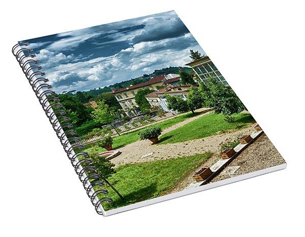 The Beauty Of The Boboli Gardens Spiral Notebook