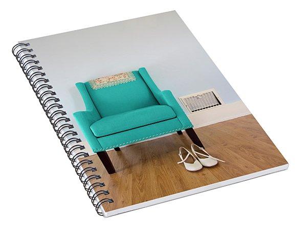 The Blue Chair Spiral Notebook