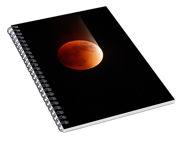 The Bouncing Eclipse Spiral Notebook