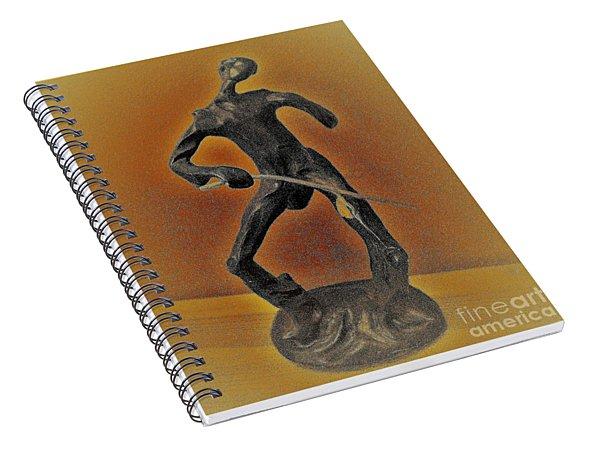 The Cane Man. Spiral Notebook