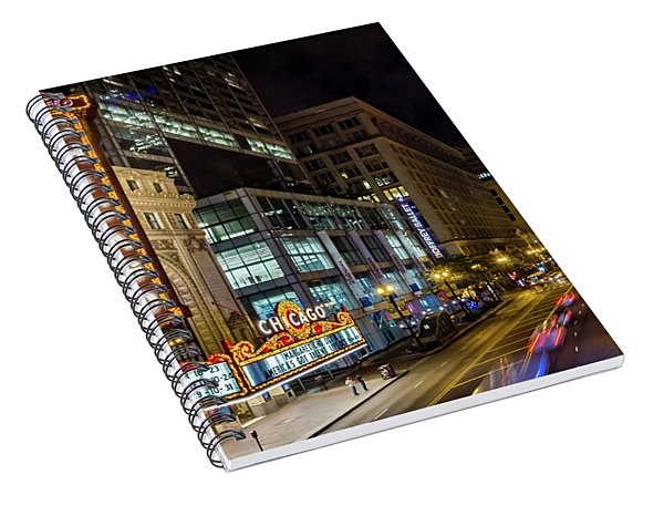 Illinois - The Chicago Theater Spiral Notebook