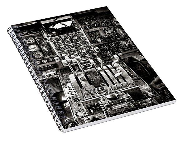 The Cockpit Spiral Notebook