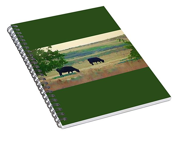 The Cows Next Door Spiral Notebook