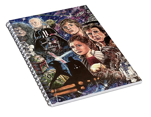 The Empire Strikes Back Spiral Notebook