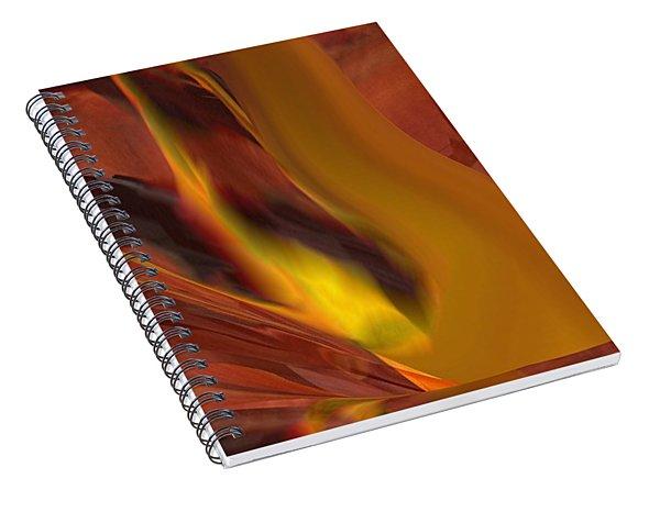 The Fire From Below Spiral Notebook