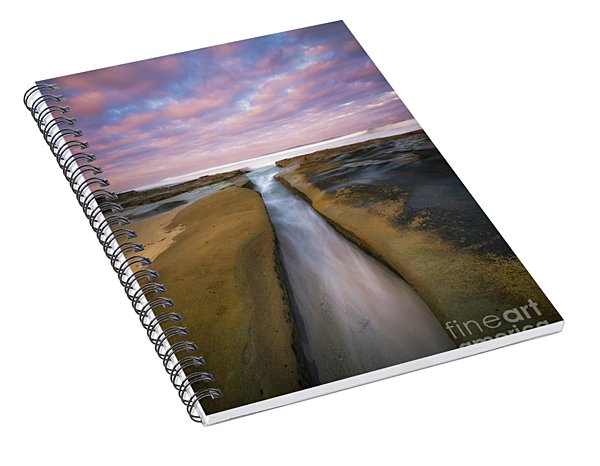 The Flow  Spiral Notebook