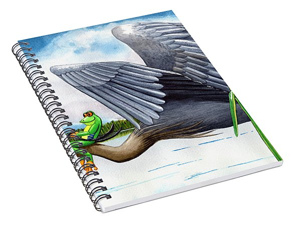 The Fly By Spiral Notebook