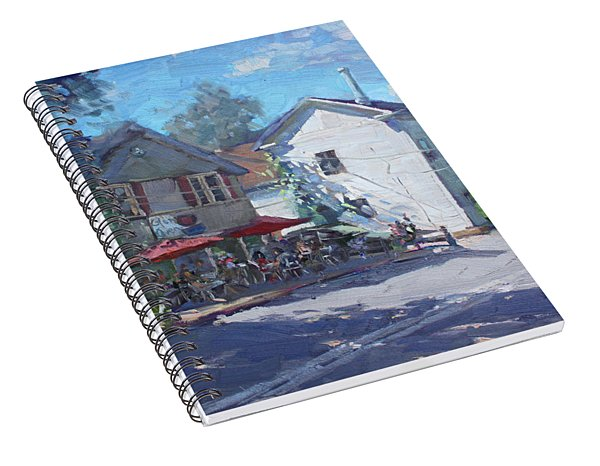 The Glen Oven Cafe Spiral Notebook