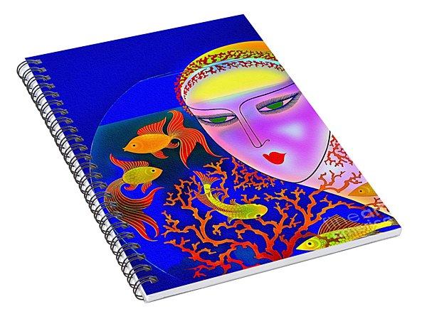 The Goldfish Bowl - Vintage 1920s Spiral Notebook