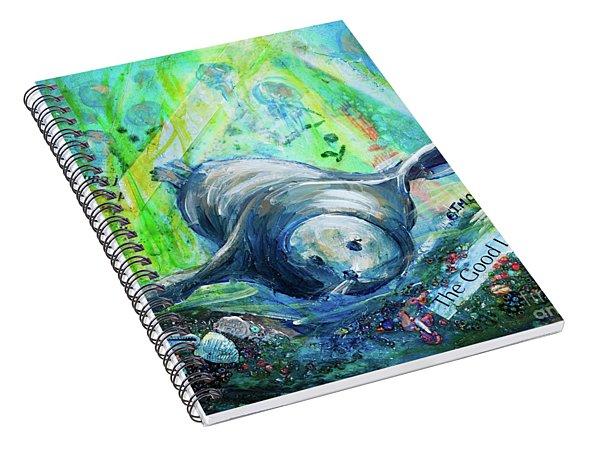 The Good Life Spiral Notebook