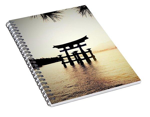 The Great Torii  Spiral Notebook