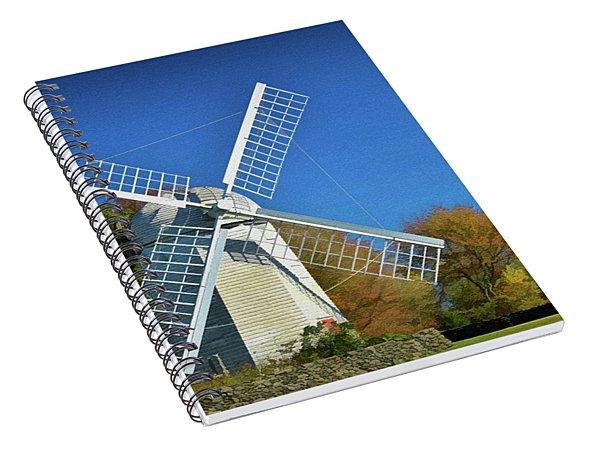 The Jamestown Windmill Spiral Notebook