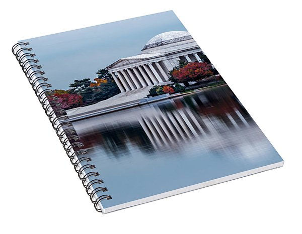 The Jefferson In Baby Blue Spiral Notebook