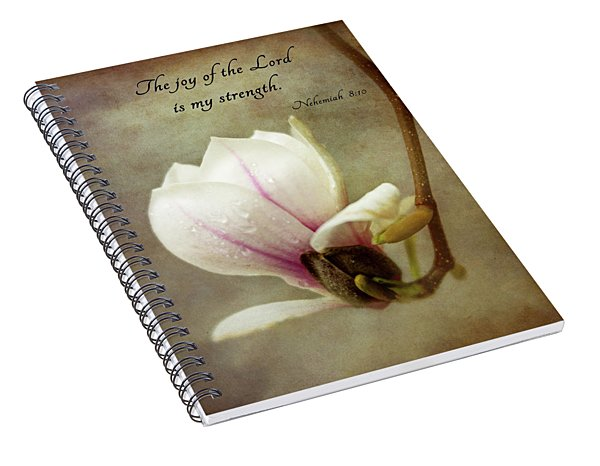 The Joy Of The Lord Spiral Notebook
