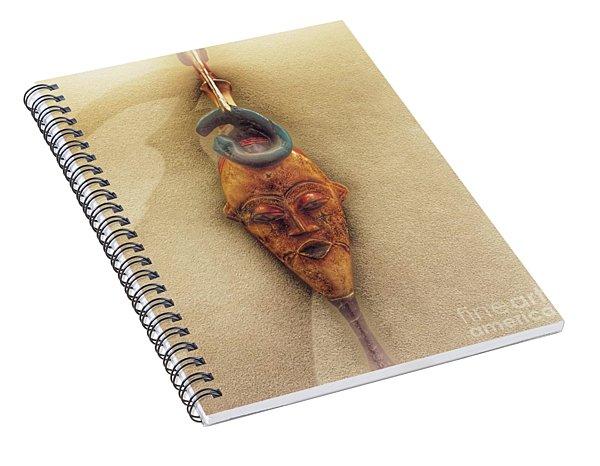 The Mask Wearer Spiral Notebook
