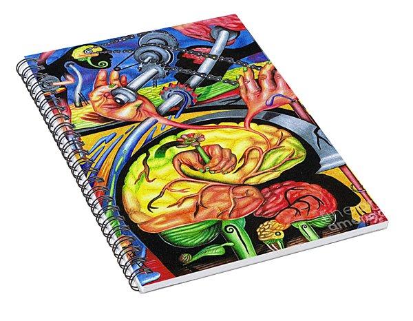 The Mechanics Of Consciousness Spiral Notebook