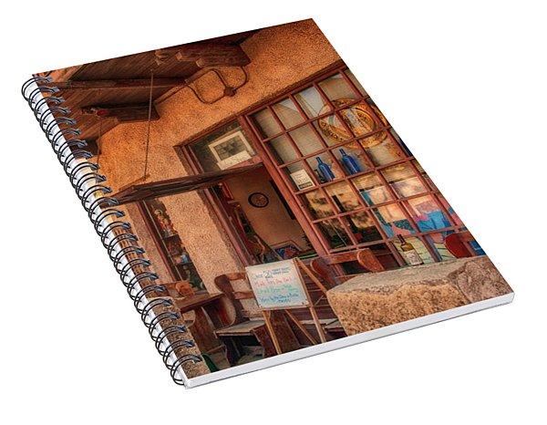 The Monk's Vineyard Spiral Notebook
