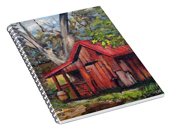 The Old Pig Barn Spiral Notebook