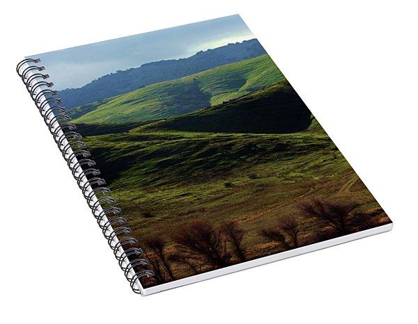 The Outskirts Of San Luis Reservoir, California Spiral Notebook