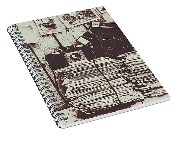The Photo Room Spiral Notebook