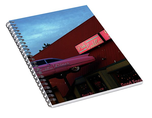 The Pink Cadillac Diner Spiral Notebook
