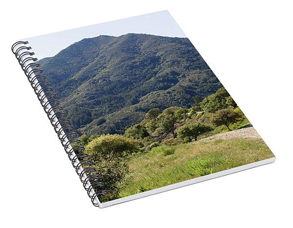 The Road To Tamalpais Spiral Notebook