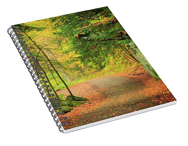 The Road To The Mill  Spiral Notebook