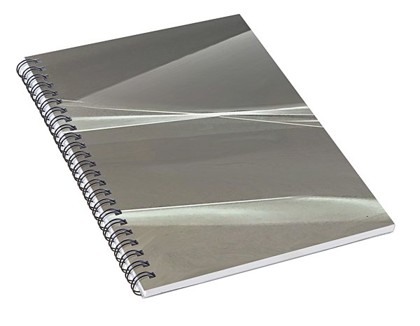 A Rush Of Wings Spiral Notebook
