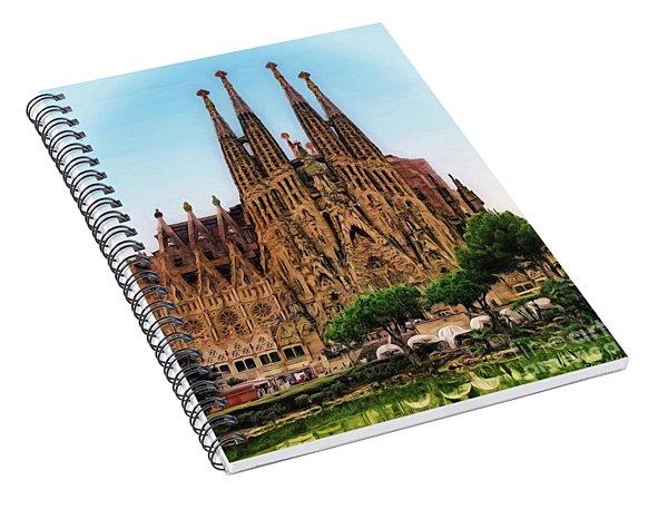 The Sagrada Familia Spiral Notebook