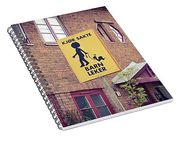 The Snail Kid Spiral Notebook