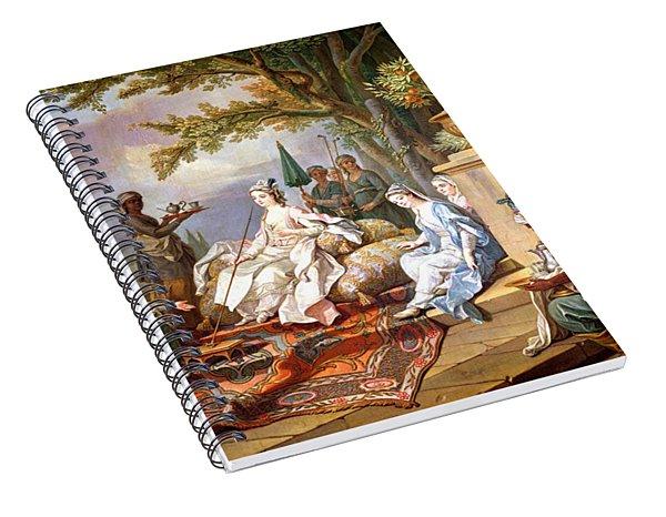 The Sultana Served By Her Eunuchs Spiral Notebook