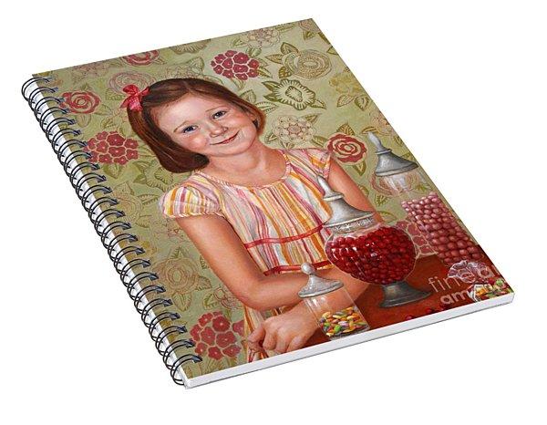 The Sweet Sneak Spiral Notebook
