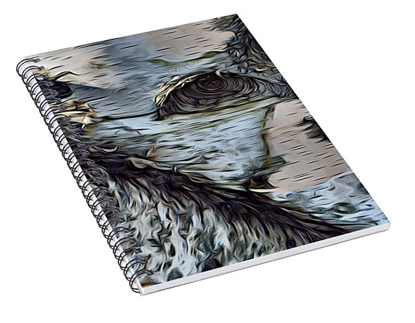 The Watcher In The Wood Spiral Notebook