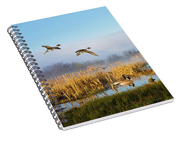 The Wetlands Crop Spiral Notebook