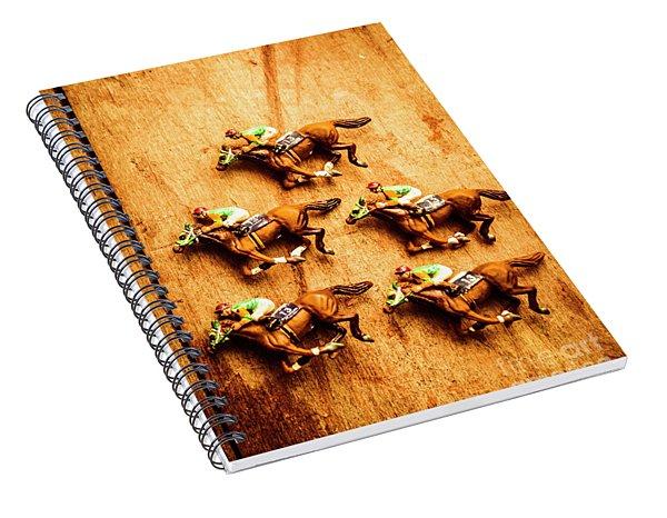 The Wooden Horse Race Spiral Notebook