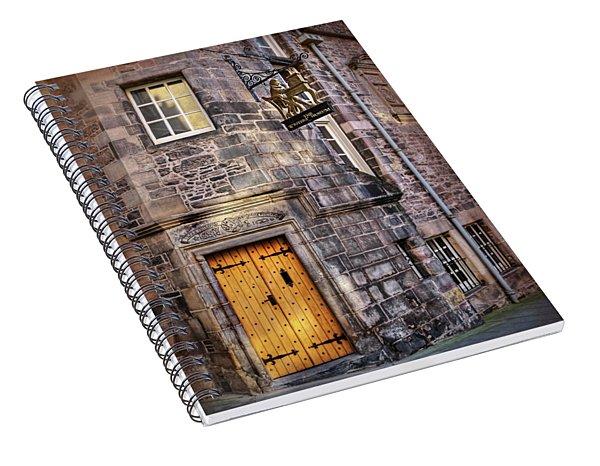 The Writers Museum Edinburgh Scotland  Spiral Notebook