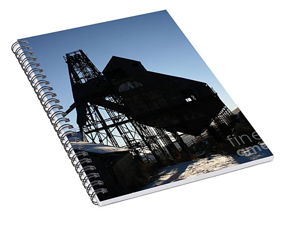 Theresa Mine Spiral Notebook