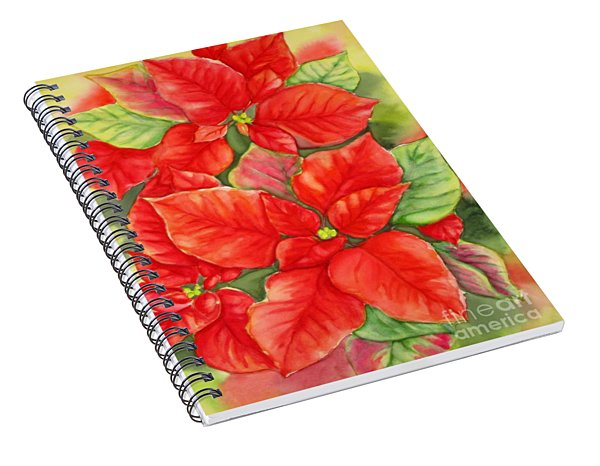 This Year's Poinsettia 1 Spiral Notebook