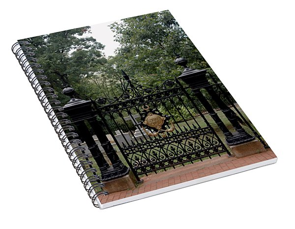 Thomas Jefferson Grave Site Monticello Spiral Notebook