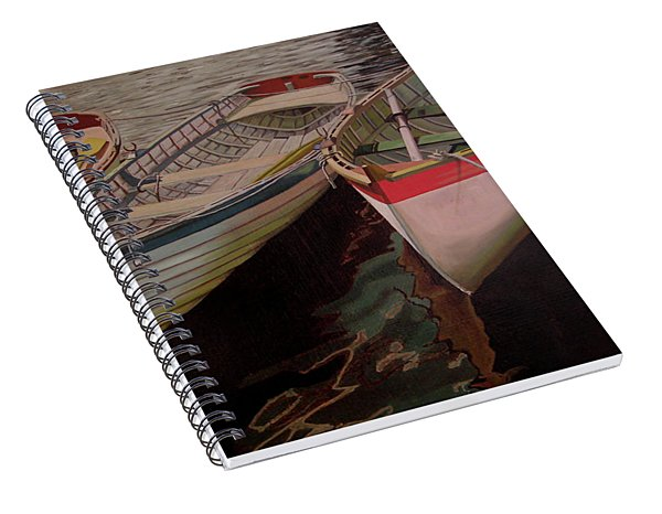 Three Boats Spiral Notebook