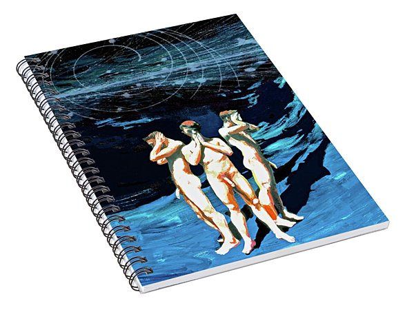 Three Boys, Hear No Evil, Speak No Evil, See No Evil Spiral Notebook