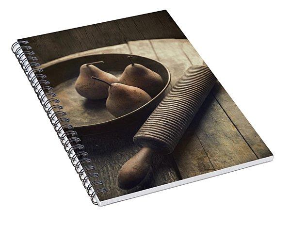 Three For Pie Spiral Notebook