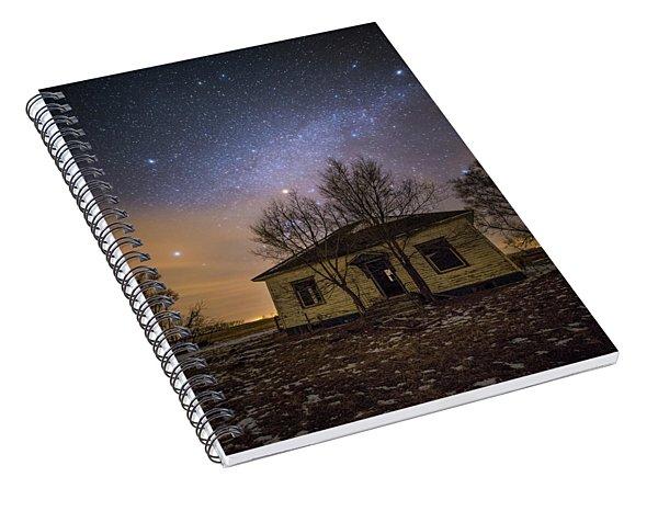 Through The Never  Spiral Notebook