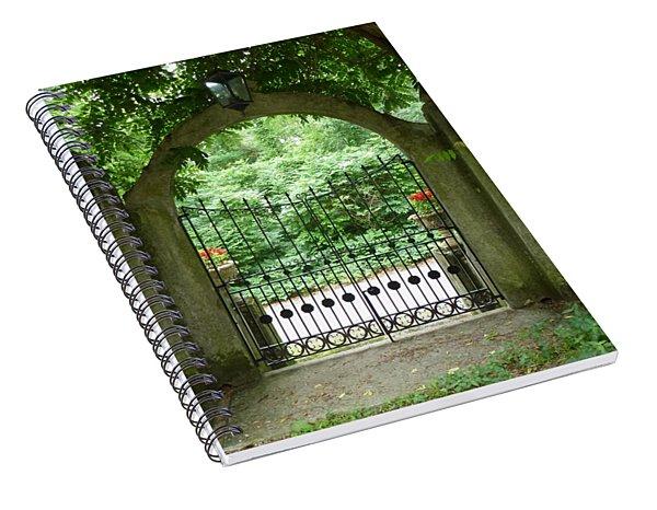Through The Tuscan Gate Spiral Notebook