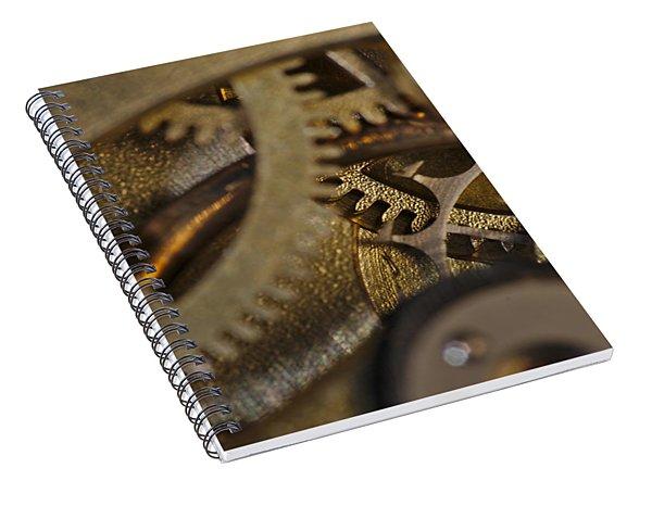 Tic Tac Wheels Spiral Notebook