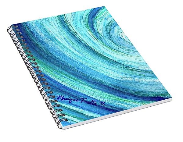 Tidal Spiral Notebook