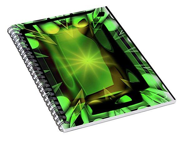 Time Barrier Spiral Notebook