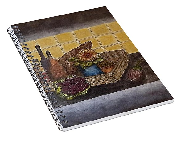 Time To Cook Spiral Notebook